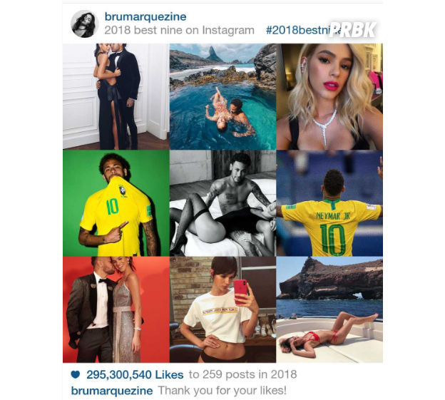 """2018 Best Nine""da Bruna Marquezine"