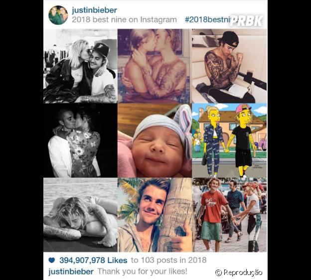 """2018 Best Nine""do Justin Bieber"