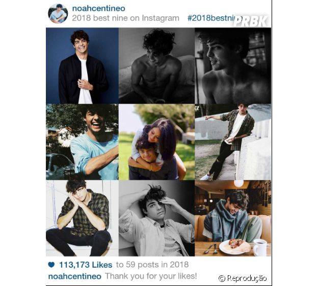 """2018 Best Nine"" do Noah Centineo"
