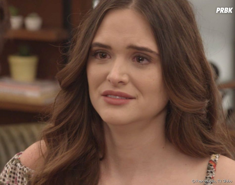 """Em """"O Tempo Não Para"""": parece que Marocas (Juliana Paiva) pode realmente morrer nos próximos capítulos"""