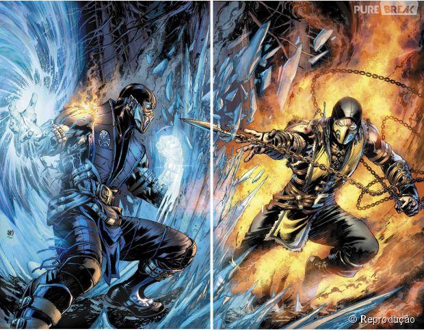 "DC Comics vai produzir um HQ inspirado em ""Mortal Kombat X"""