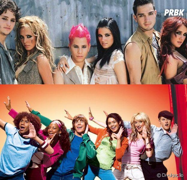"""Descubra qual seria sua mistura de personagens de """"Rebelde"""" e """"High School Musical""""!"""
