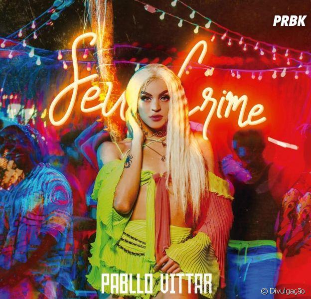 "Pabllo Vittar arrasa na sensualidade no clipe de ""Seu Crime"""