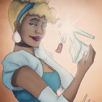 E se a Cinderela fosse negra? Um artista redesenhou as princesas da Disney e o resultado ficou ótimo