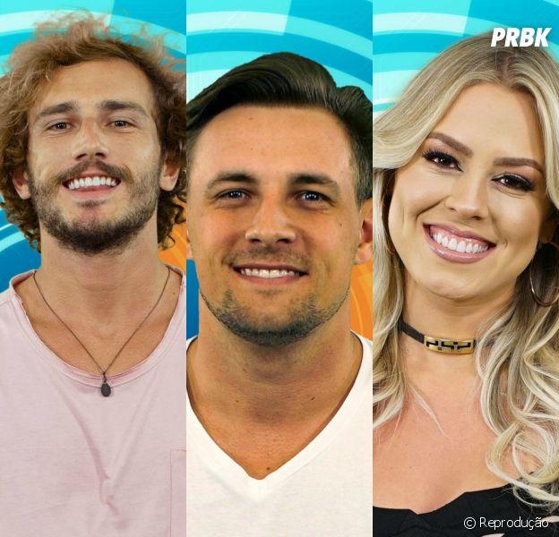 """Enquete """"BBB19"""": quem deve ser eliminado, Alan, Diego ou Isabella?"""