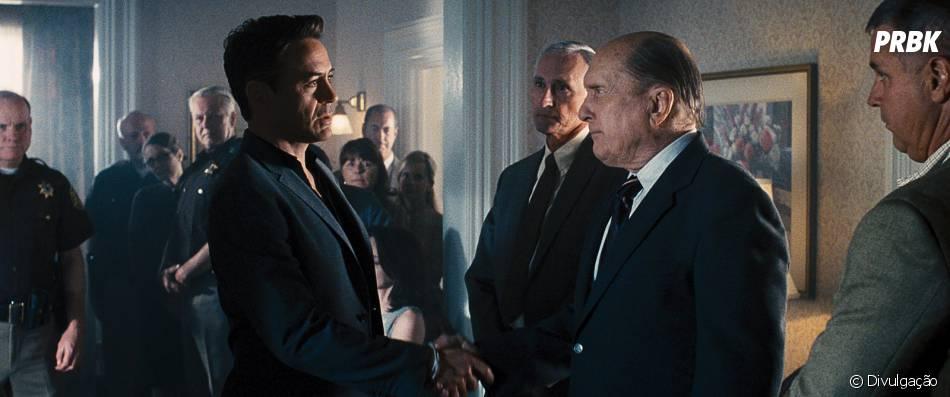 """Robert Downey Jr. vive um advogado que vai defender o pai no tribunal em """"O Juiz"""""""