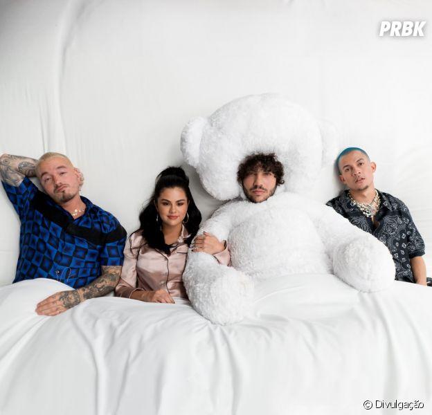 """Selena Gomez lança """"I Can't Get Enough"""", parceria com J Balvin, Benny Blanco e Tainy"""