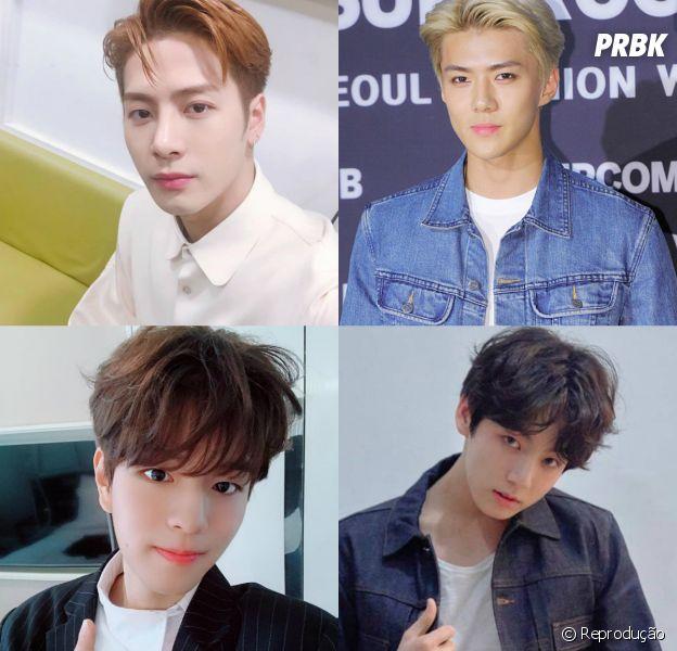 Escolha qual o crush perfeito no mundo do K-Pop