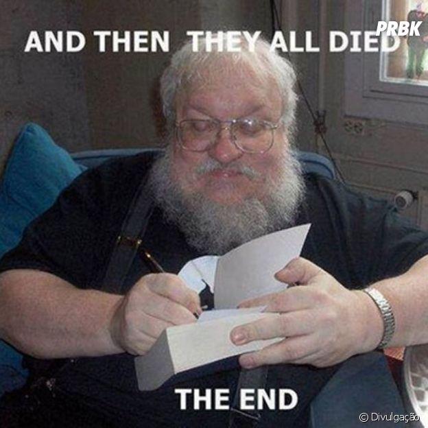 """Essa foi a ideia inicial para """"Game of Thrones"""""""