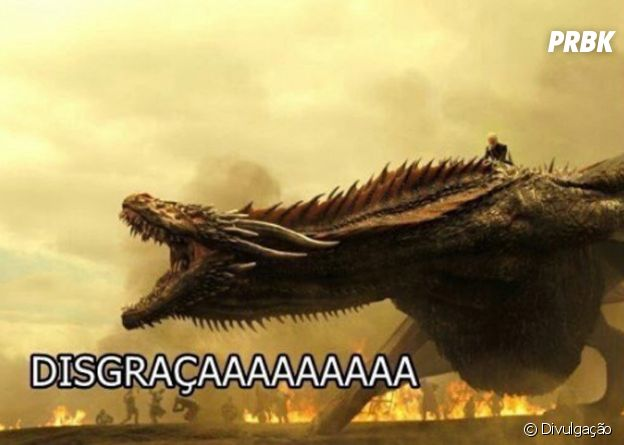 """Nem os dragões de """"Game of Thrones"""" aguentam mais!"""