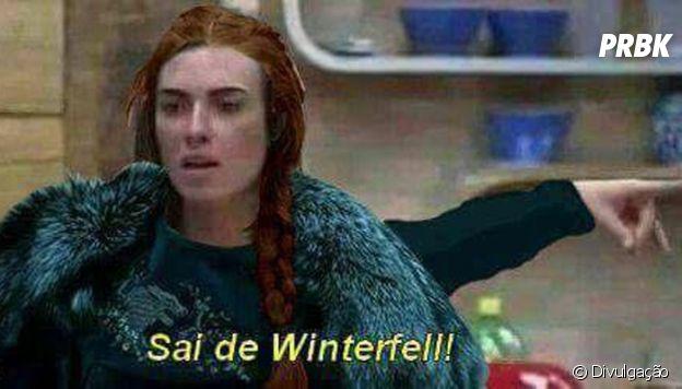 "De ""Game of Thrones"", Sansa (Sophie Turner) ou Nicole Bahls? Só sabemos que queremos intrusos fora de Westeros"