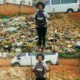 Vem ver uma galera sendo incrível limpando lugares cheios de lixo com o#TrashChallenge