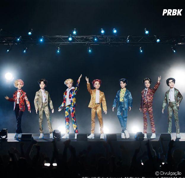 Mattel lança bonecos do BTS e fãs detestam visual