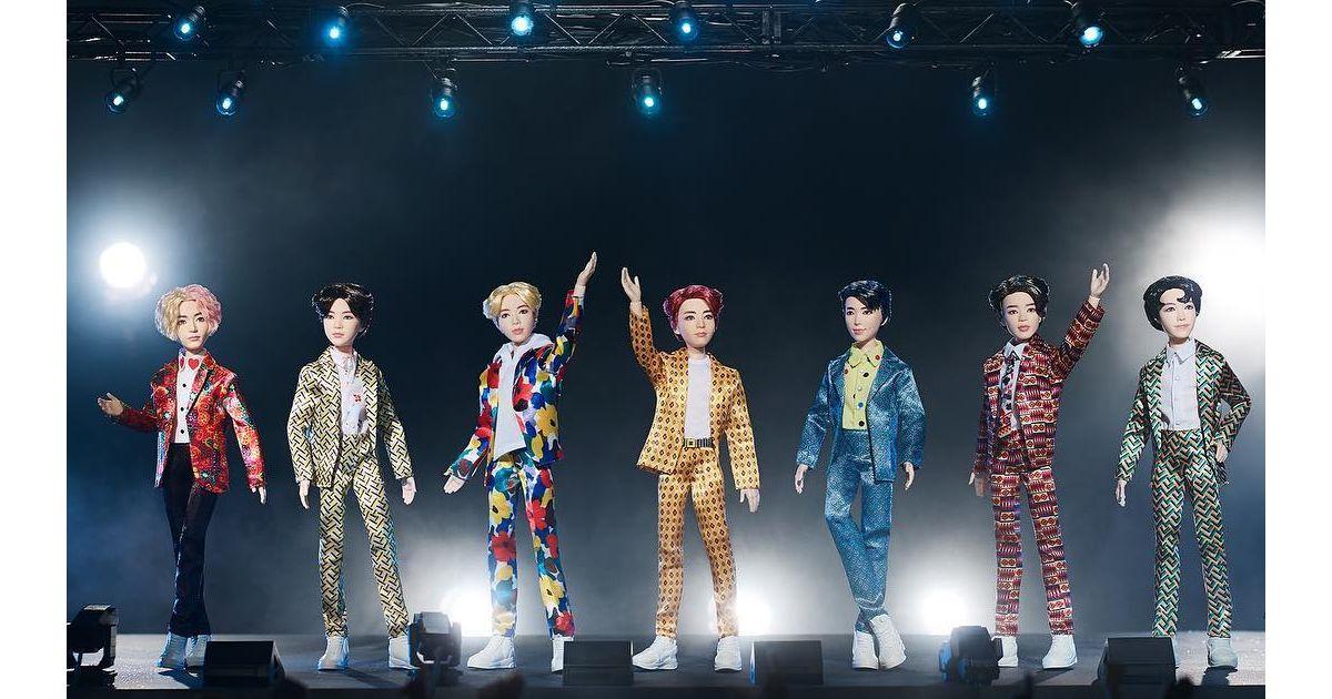 BTS e Mattel: bonecos do grupo são lançados e fãs criticam
