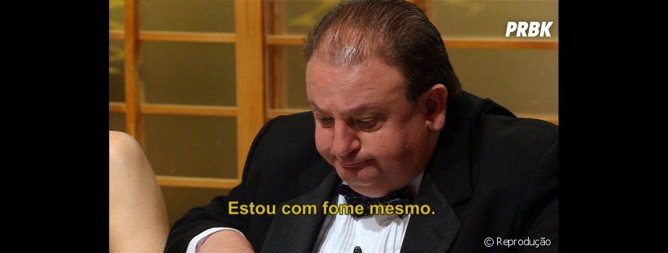 """""""MasterChef Brasil"""":  Érick Jacquin viraliza com meme """"estou com fome mesmo"""""""