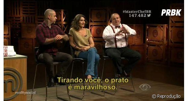 """""""MasterChef Brasil"""": participante viraliza com meme """"tirando você, o prato é maravilhoso"""""""