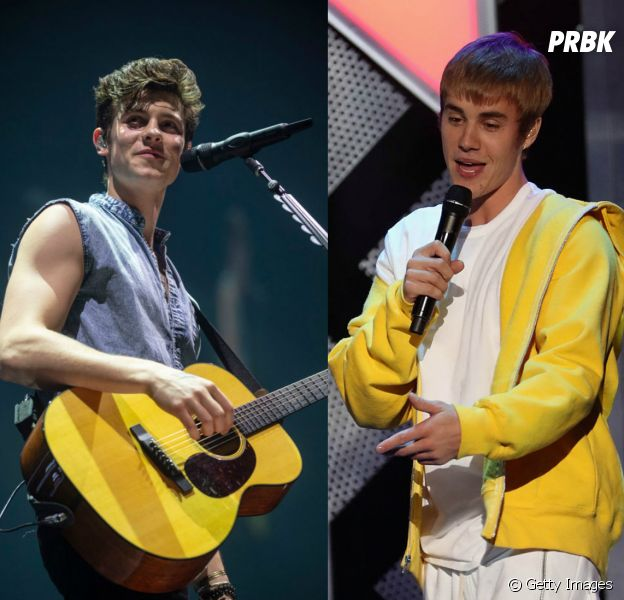 Justin Bieber brinca com Shawn Mendes e deixa fãs do rapaz irritados