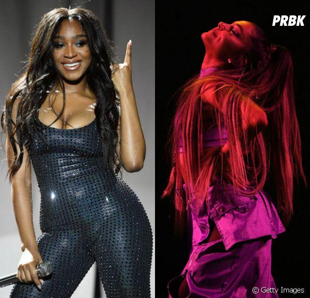 Normani Kordei fala sobre bastidores de turnê com Ariana Grande