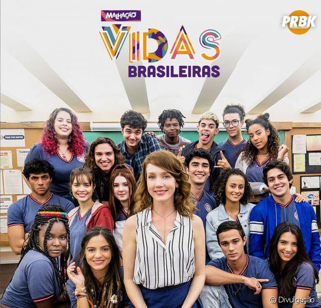 """Atores de """"Malhação - Vidas Brasileiras"""" postam despedidas em suas redes sociais"""