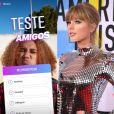 Agora você pode realizar testes e usar filtro da Taylor Swift no Instagram Stories