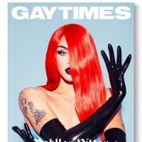 Vocês tem noção que a Pabllo Vittar é capa da revista LGBT mais importante da Inglaterra?