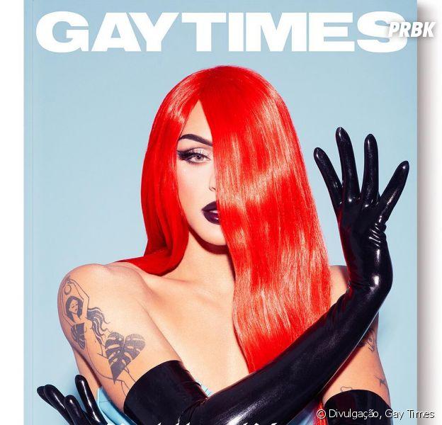 Pabllo Vittar na Gay Times: drag queen é capa da nova edição da revista