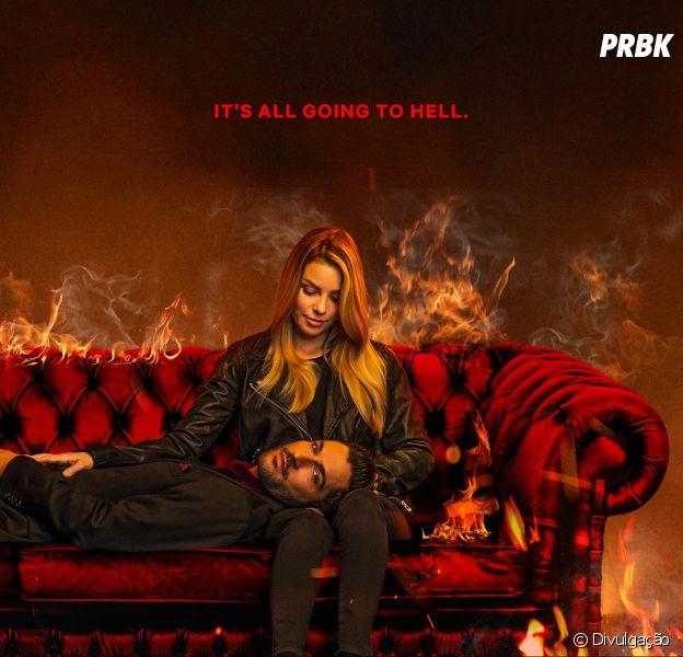 """De """"Lucifer"""": Pôster E Vídeo Promocional Da 4ª Temporada"""