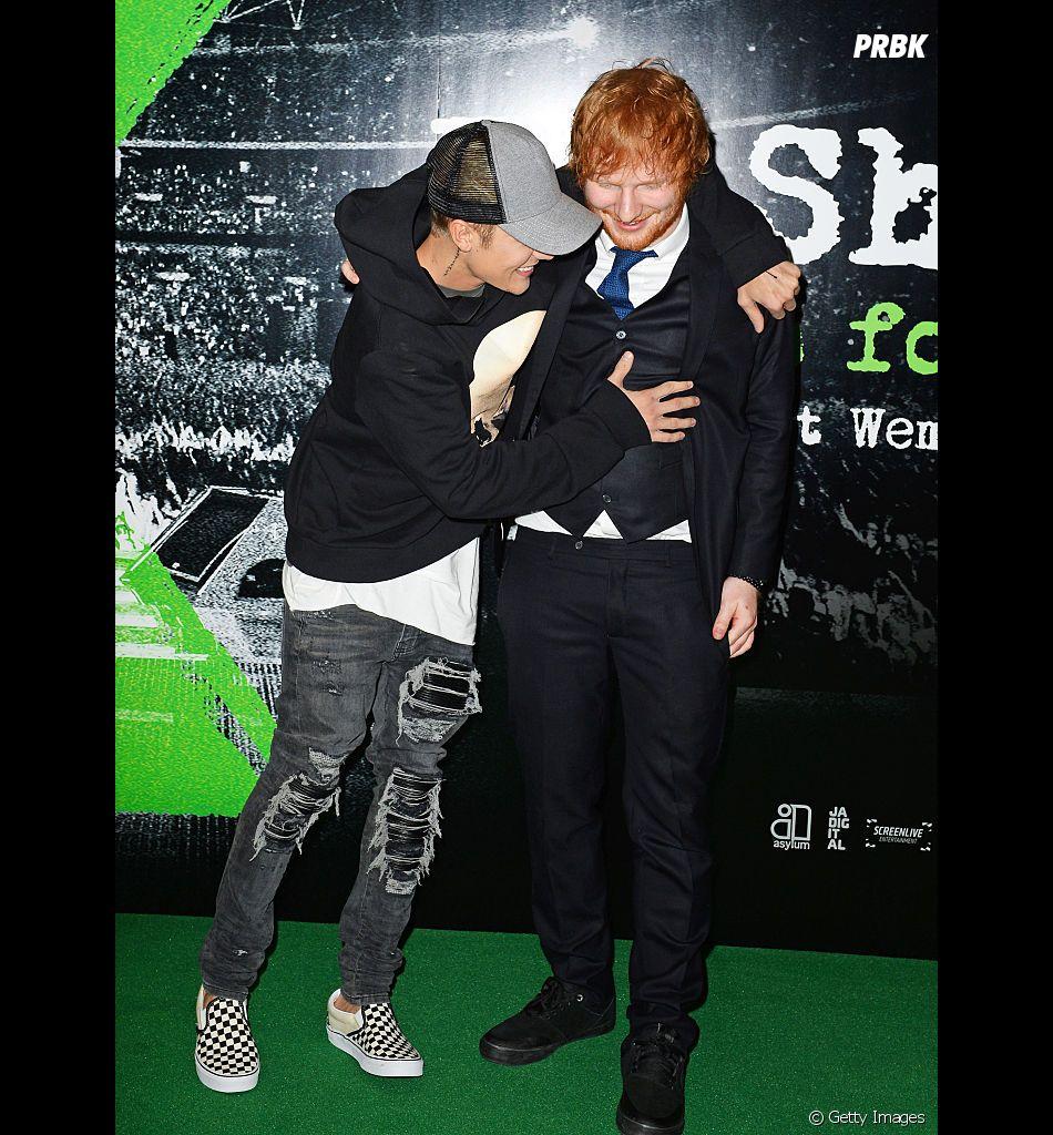 "Justin Bieber e Ed Sheeran: rádio divulga trecho de ""I Don't Care"""