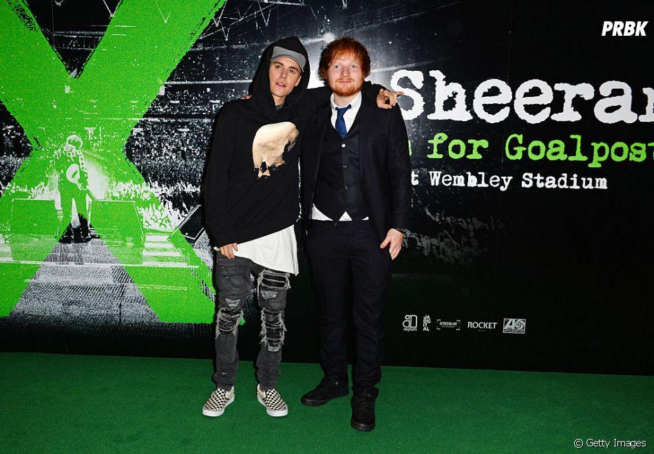 """Justin Bieber e Ed Sheeran confirmaram lançamento de """"I Don't Cara"""" para o dia 10 de maio"""