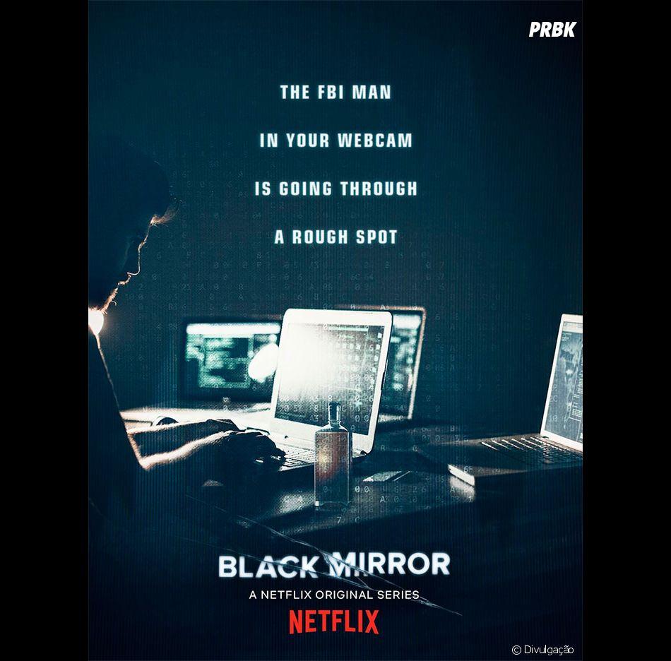 """""""Black Mirror"""": primeiro poster da 5ª temporada é divulgado e série ganha data de estreia, dia 5 de junho"""