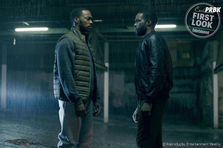 """""""Black Mirror"""" tem crossover não intencional de Marvel-DC com Anthony Mackie (""""Vingadores"""") e Yahya Abdul-Mateen II (""""Aquaman"""") fazendo parte do elenco da 5ª temporada"""