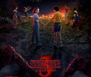 """Os adolescentes estão bem assustados no 4 de julho nesses pôsteres da nova temporada de """"Stranger Things"""""""