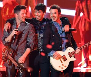 Os Jonas Brothers ganharam um filhote de tubarão morto!
