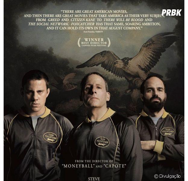 Novo cartaz traz imagem de trio protagonista