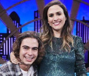 """Rafael Vitti participa do """"Lady Night"""" em prova sobre bebês ao lado de Tatá Werneck"""