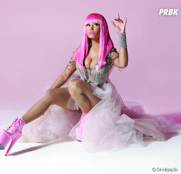 """Nicki Minaj divulga teaser do lançamento de seu novo álbum, """"The Pink Print"""""""