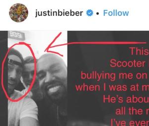 Justin Bieber e Scooter Braun debocharam de Taylor Swift anos atrás