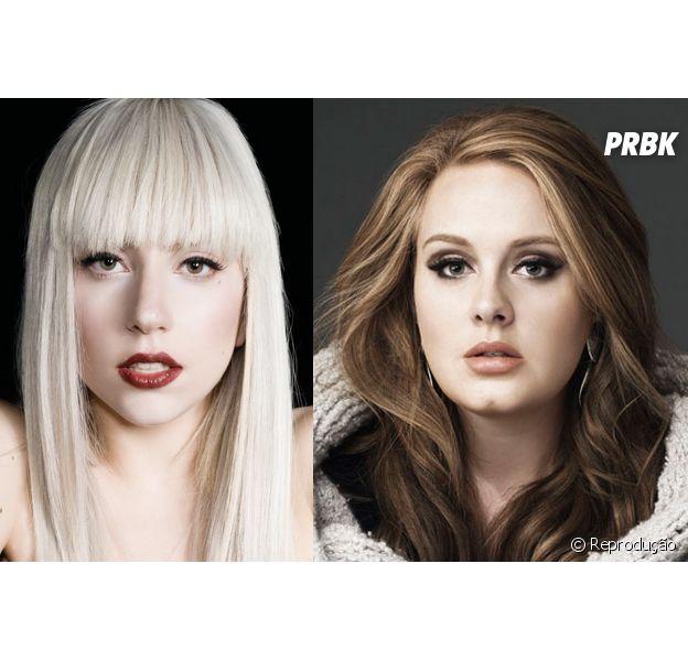 Lady Gaga e Adele podem lançar dueto em 2015