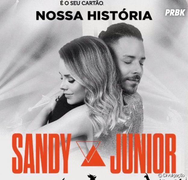 """Sandy e Junior anunciaram turnê """"Nossa História"""" em comemoração aos 30 anos de carreira"""