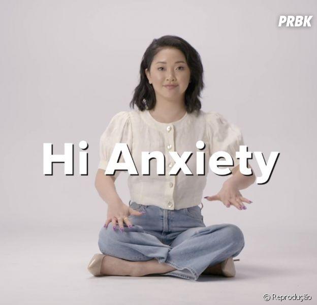Lana Condor fala sobre ansiedade em vídeo e dá uma ótima dica para quem também possui o transtorno