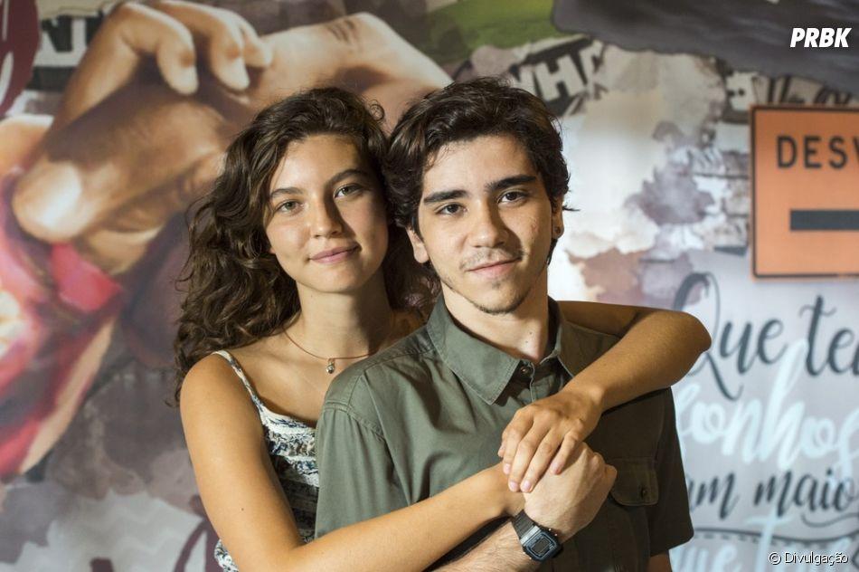 """""""Malhação - Toda Forma de Amar"""": Tadeu (João Fernandes) ajuda Rita (Alanis Guillen) a recuperar a guarda da Nina"""