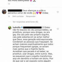 Ludmilla deu a melhor resposta para comentário homofóbico sobre o seu namoro com Brunna