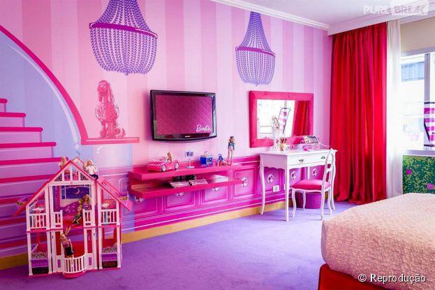 Quarto Decorado Infantil Da Barbie ~ Primeiro quarto oficial da boneca Barbie ? inaugurado em Buenos Aires