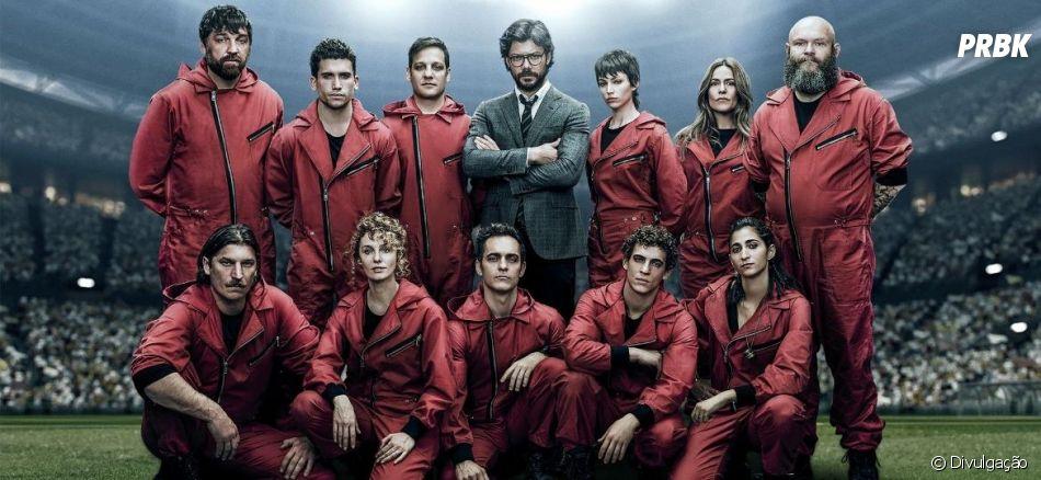 """""""La Casa de Papel"""": 4ª temporada da produção é confirmada pela Netflix"""
