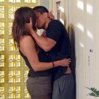 """Novela """"Malhação"""": Nat não resiste a atração e dá beijão em Duca!"""