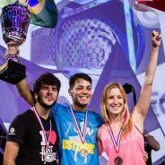 """Brasileiros arrasam no torneio mundial de """"Just Dance"""" em Paris"""