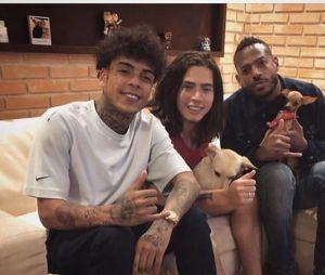 Marlon Wayans foi à casa de Whindersson Nunes em sua passagem pelo Brasil