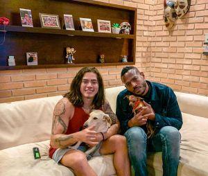 Whindersson Nunes e Marlons Wayans trocaram elogios após gravarem juntos