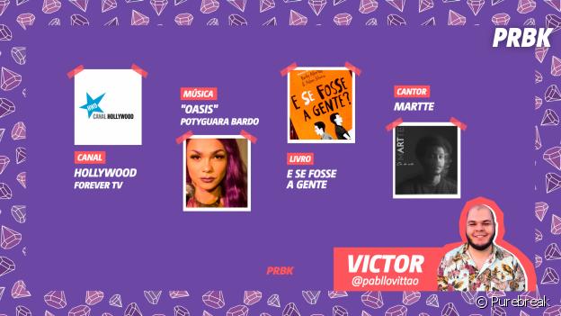 Viciei do Purebreak: Victor indicou Martte, Potyguara Bardo e muito mais