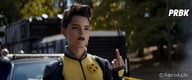 """Míssil Adolescente Megassônico até apareceu com sua namorada, Yukio, no filme """"Deadpool 2"""""""